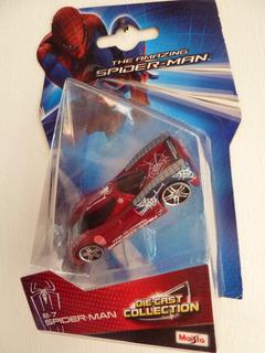 Auto A Escala 1/64 - Maisto - Spiderman