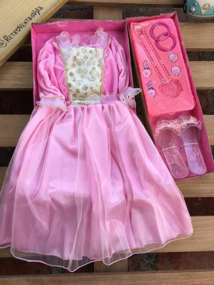 Disfraz Con Accesorios De Niña (princesa,ada)