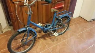Bicicleta Plegable Rodado 16