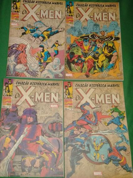 Coleção Histórica X-men Vol.1 Com Box