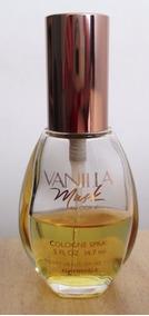 B5235 Vidro De Perfume Vanilla Musk De Coty 14,5ml, Com Part
