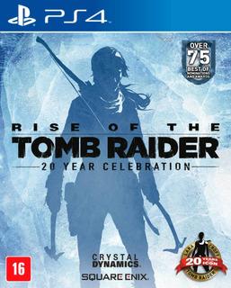 Rise Of The Tomb Raider 20 Year Celebration Ps4 Envío Grátis