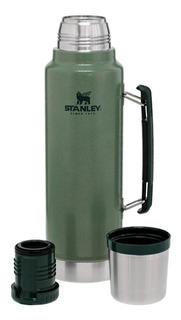 Termo Stanley Classic Botlle Con Manija 1 Litro Acero Inoxidable Original