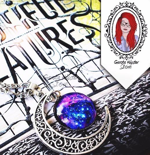 Colar Dezesseis Luas Lena Lua, Galáxia & Nebulosa