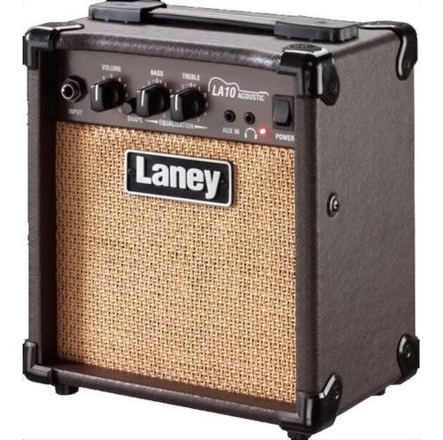 Imagen 1 de 3 de Amplificador Guitarra Acústica Laney 10w La10 En 18 Cuotas
