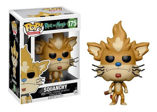 Funko Pop 175 Rick And Morty - Squanchy
