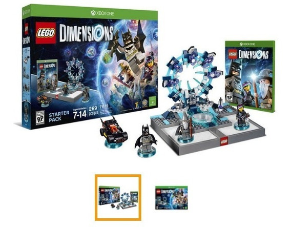Game Lego Dimensions Start Pack + Midia Fisica + Pack Super