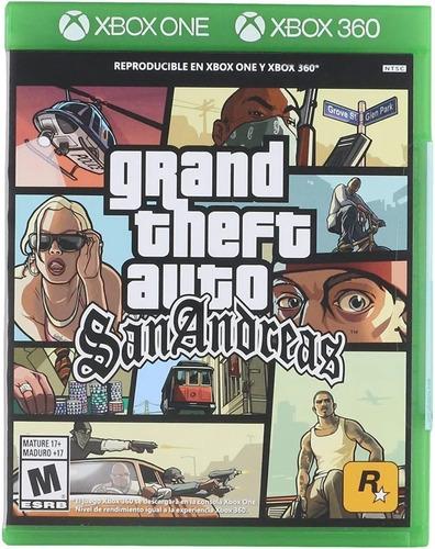 ..:: Grand Theft Auto Gta San Andreas ::.. En One/360 En Gc