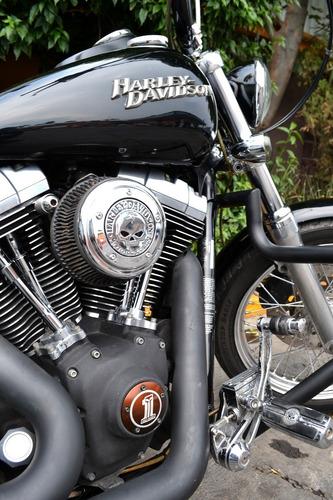 Imagen 1 de 15 de Harley Dyna Street Bob Muy Llamativa, Con Extras, Emplacada