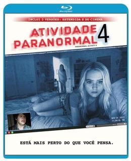 Atividade Paranormal 4 - Blu-ray Lacrado