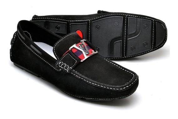 Sapato Mocassim Sapatenis Sapatilhha.estilo Louiz Vuitton.