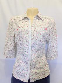 Camisa Social Estampada Floral