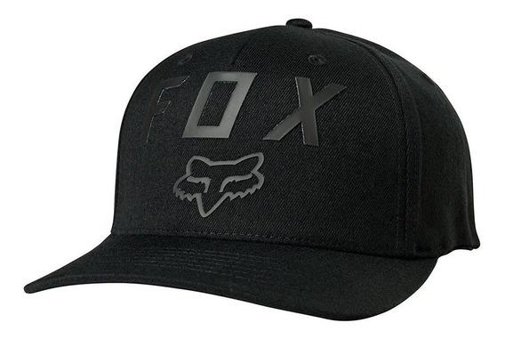 Boné Fox Number 2 Preto Flexfit Original
