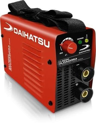 Soldadora Daihatsu S21-200m Mini Inverter Mma 200a