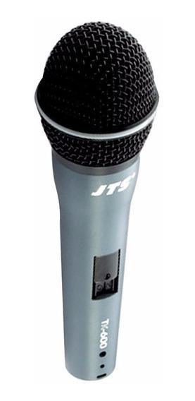 Microfone Vocal Jts Tk600 Com Maleta Cabo E Cachimbo