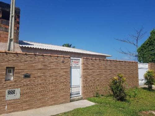 Casa Lado Praia Em Itanhaém, Com 2 Quartos Ca080-pc