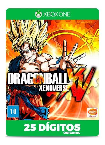 Imagem 1 de 5 de Dragon Ball Xenoverse Xbox One 25 Dígitos Game Original