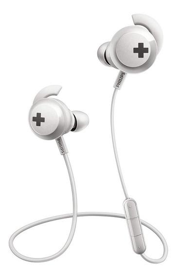 Fone De Ouvido Philips Shb4305wt Com Bluetooth E Microfone