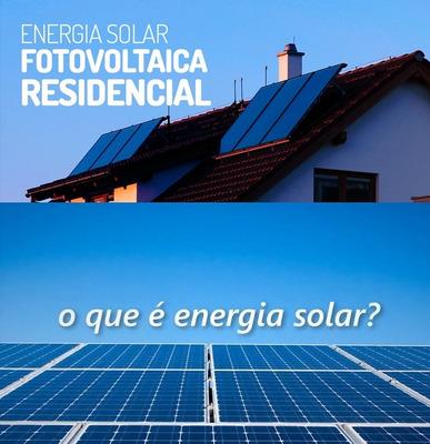 Consultoria Para Energia Solar De Paineis Fotovoltaico Top