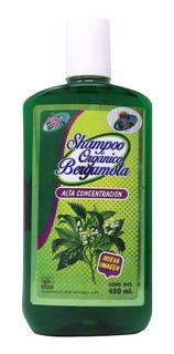 Shampoo Bergamota, Original. Crecimiento Cabello Y Barba