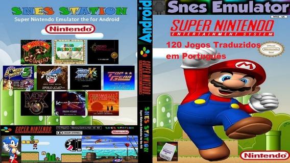 Emulador Super Nintendo + 120 Jogos Português Para Android