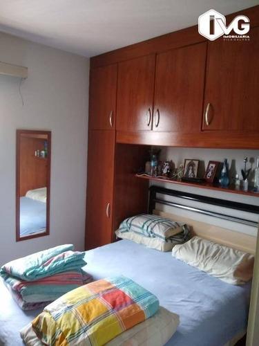 Apartamento Com 2 Dormitórios À Venda, 56 M² Por R$ 270.000,00 - Gopoúva - Guarulhos/sp - Ap2427