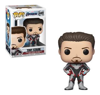 Funko Pop Tony Stark 449 Avengers Marvel Fionatoys