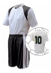 Kit 15 Uniforme Camisa, Calção E Meião