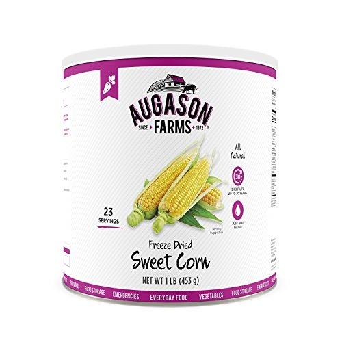 Las Granjas De Augason Liofiliza Sweet Corn # 10 Can, 16 Oz