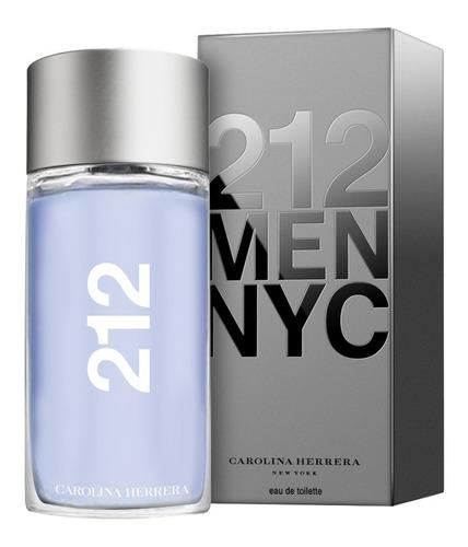 Ch 212 Hombre 200ml Edt  Silk Perfumes Original