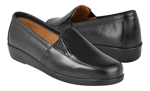 Zapatos Stylo 6050 Piel Negro