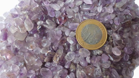 Pedras De Ametista Roladas Pacote 1/2kg - Orgonite