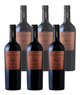 Vino Privado Reserva Jorge Rubio X 6 Unidades Envío Gratis