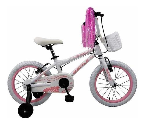 Imagen 1 de 1 de Bicicleta De Niños Rodado 16 Battle Aluminio