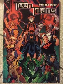 Teen Titans Family Lost En Inglés