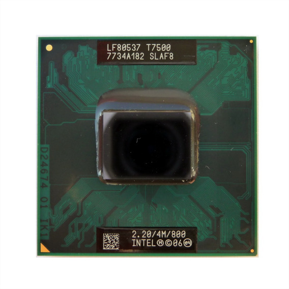 Processador Core2duo T7500 2.2ghz 4mb 800 Chipset 965 Novo
