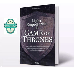 Livro Lições Empresariais De Game Of Thrones Lacrado