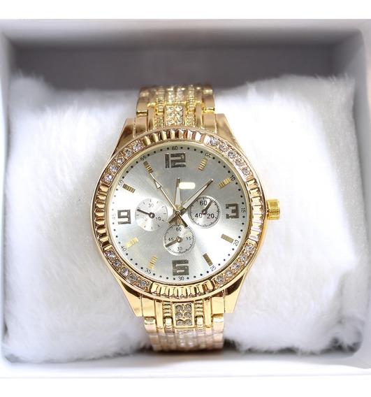 Kit 10 Relógios Femininos + Caixa Luxo Atacado Revenda Novos