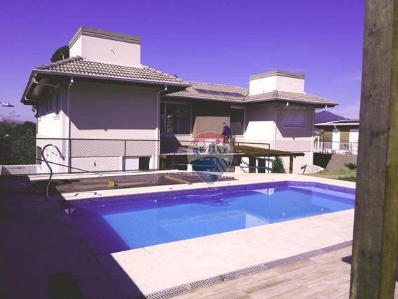 Casa Para Alugar, 600 M² Por R$ 7.000,00/mês - Resid Fazenda Do Porto - Atibaia/sp - Ca5696