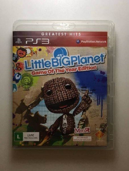 Ps3 - Little Big Planet - Midia Fisica (original)
