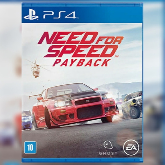 Need For Speed Payback Ps4- Need Payback Ps4- Envio Imediato
