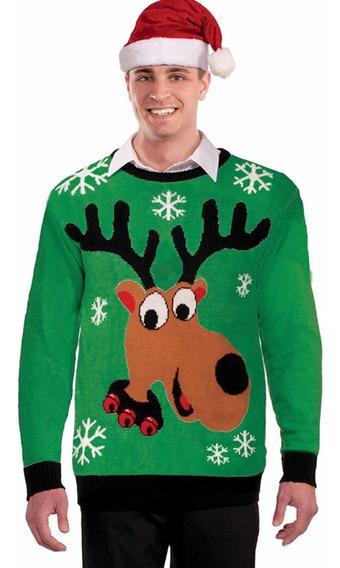 Suéter Navidad Reno Unisex