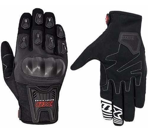 Luva X11 Blackout Motoqueiro Motociclista Moto C/ Proteção