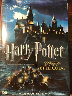 Dvd Harry Potter Coleccion / Incluye 8 Films