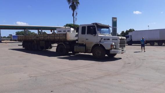 Conjunto Scania 112hs 1988 E Carreta Randon 1988