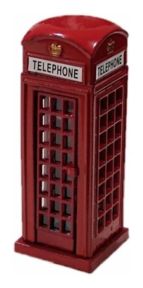 Sacapuntas Cabina Telefónica Londres 9 Cm Alto Metálico Sipi