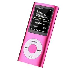 Mp4/mp3 Player Fino Slim Gravador Voz Radio Fm Fone E Brinde