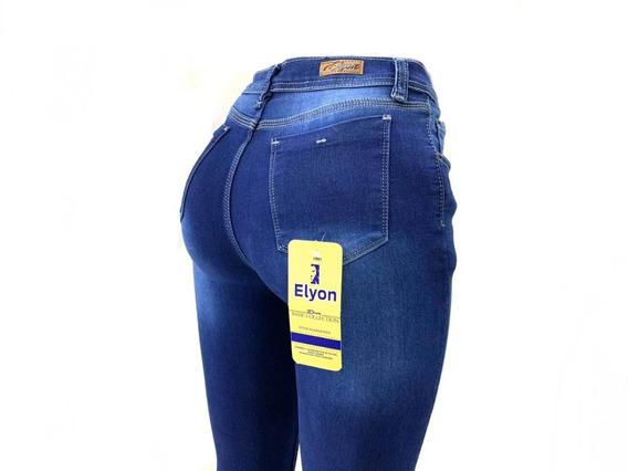 Jeans Pantalón De Dama Mezclilla Strech