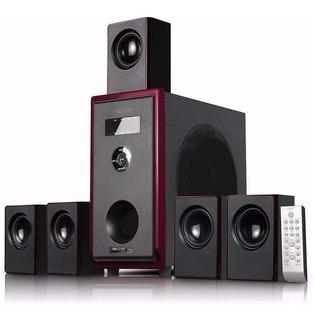 Home Theatre 5.1 Ch C/puertos Usb/sd/fm Y Bluetooth
