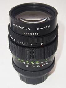 Ultimo Lente Pentacon Orestor 135mm F2.8 M42 Preset 15 §§§